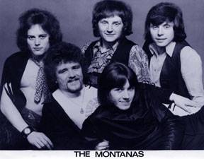 New look Monts. Front row left to right; Sludge Lees, Graham Hollis, back row left to right; George Davis, Bill Hayward, Jake Elcock
