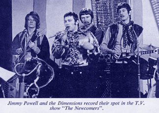Jimmy Powell and The 5 Dimensions