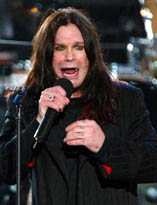 Ozzy performs at the Queen's Jubilee in 2002