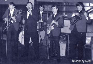 The Starliners in action during the 1960s