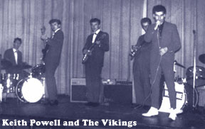 Keith Powell and The Vikings in 1962
