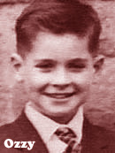 Ozzy Osbourne at 8 years old